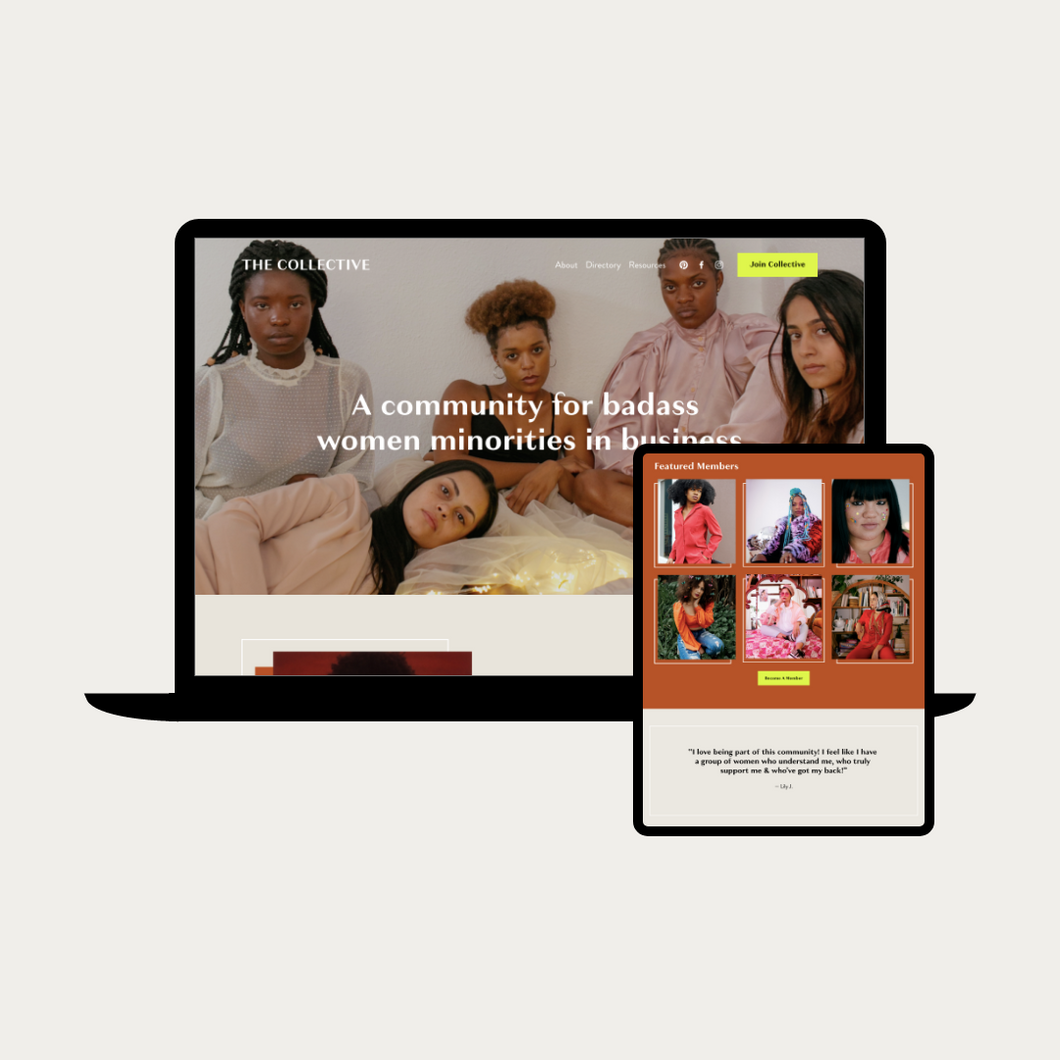 The Collective Squarespace Template