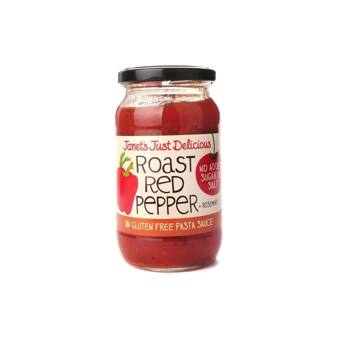 Janet's Just Delicious Roast Red Pepper - Sweet Beat Sligo