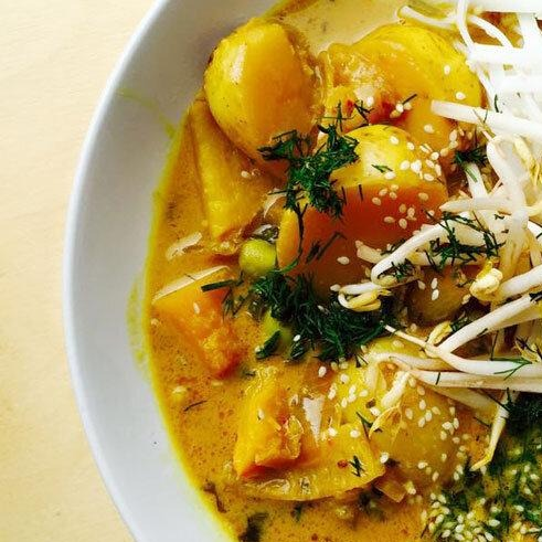 Sweet Beat Coconut Curry - Sweet Beat Sligo