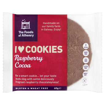 Foods of Athenry Raspberry Cocoa Cookie - Sweet Beat Sligo