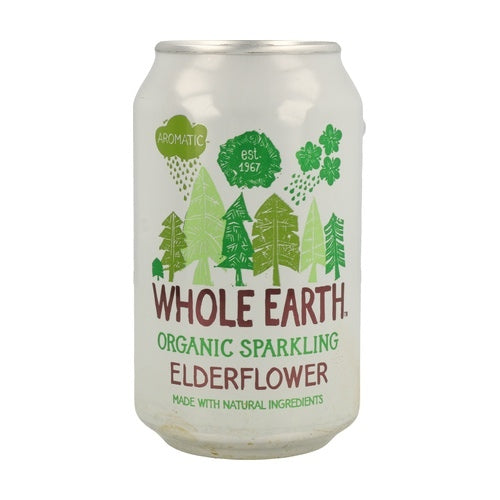 Whole Earth Organic Sparkling Elderflower - Sweet Beat Sligo