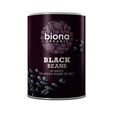 Biona Organic Black Beans in Water
