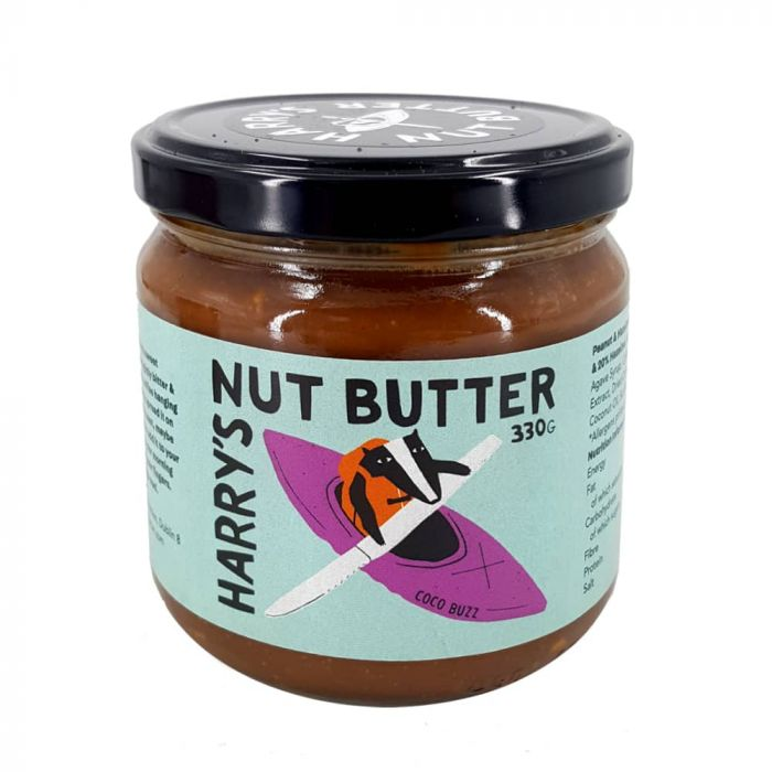 Harry's Nut Butter Coco Buzz - Sweet Beat Sligo