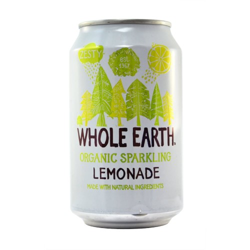 Whole Earth Organic Sparkling Lemonade - Sweet Beat Sligo