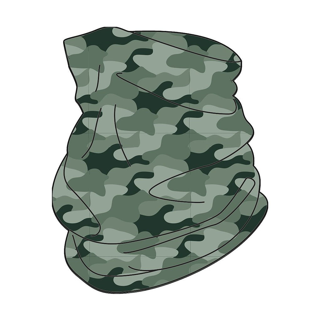 Camo Neck Gaiter - Luxe Personalization Boutique