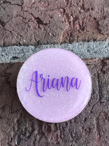 Lavender Glitter Phone Grip | Glitter Phone Accessories| Custom Phone Grip | Monogram Phone Grip| Phone Stands| Gift For Her| Phone Grip - Luxe Personalization Boutique