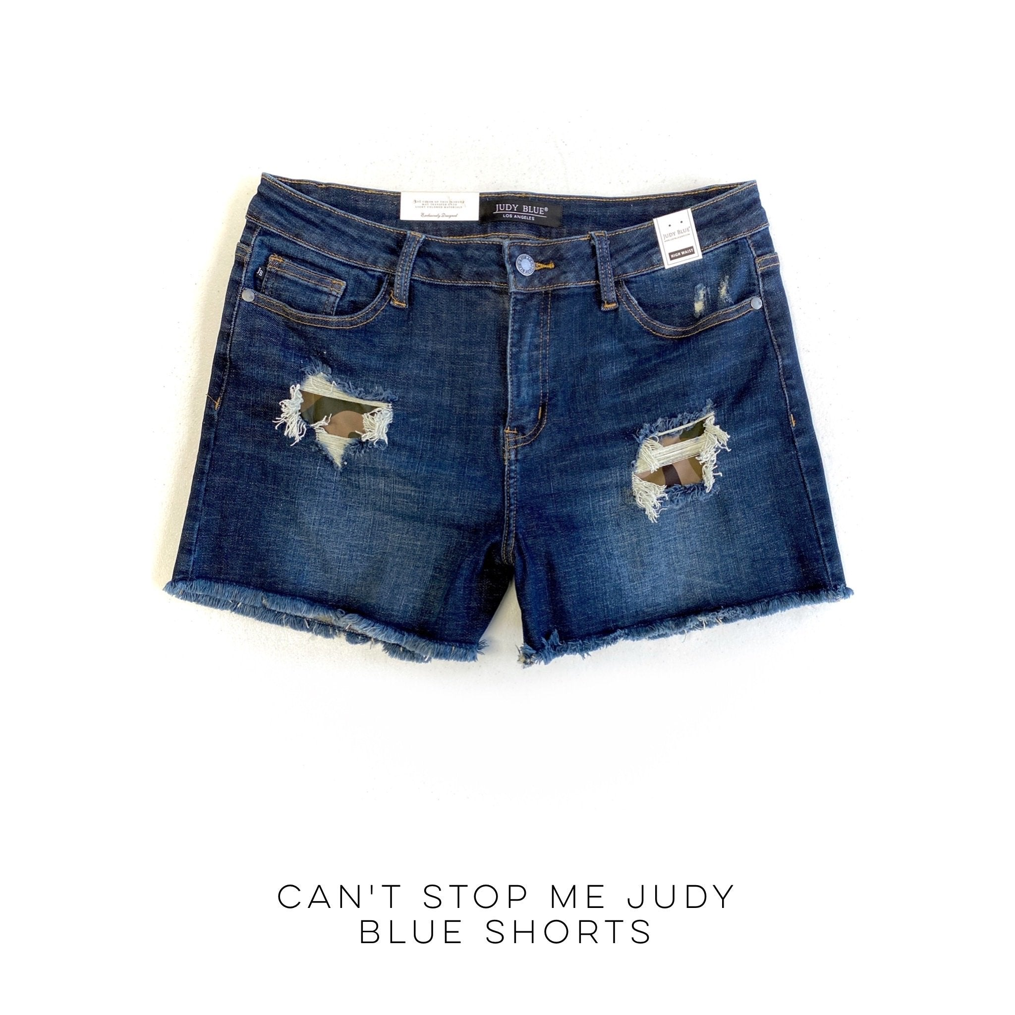 Can't Stop Me Judy Blue Shorts