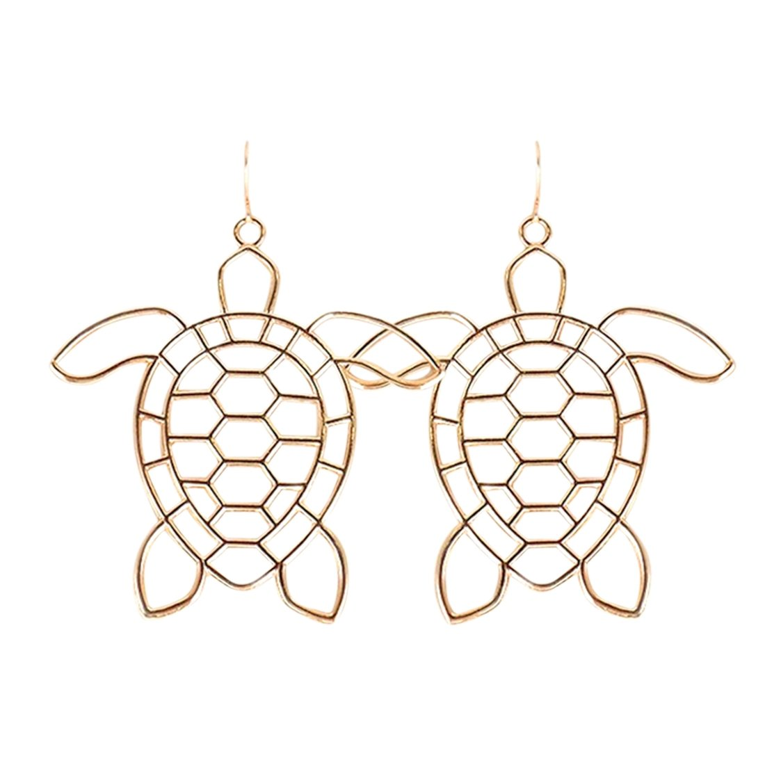 Turtle Tropical Earrings