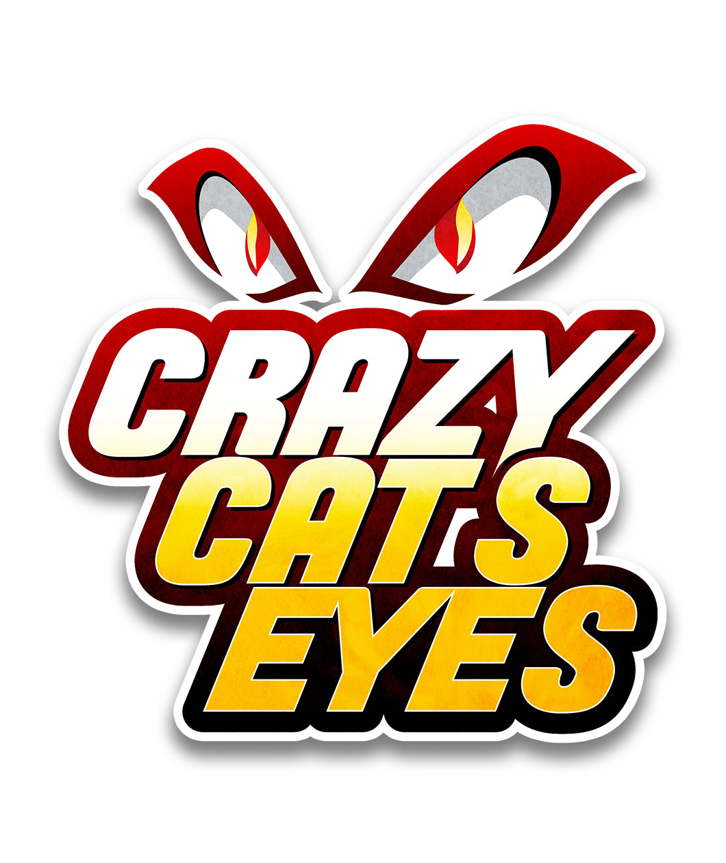 Crazy Cats Eyes Team Decal