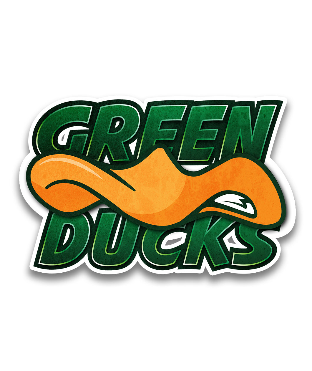 Green Ducks Team Decal
