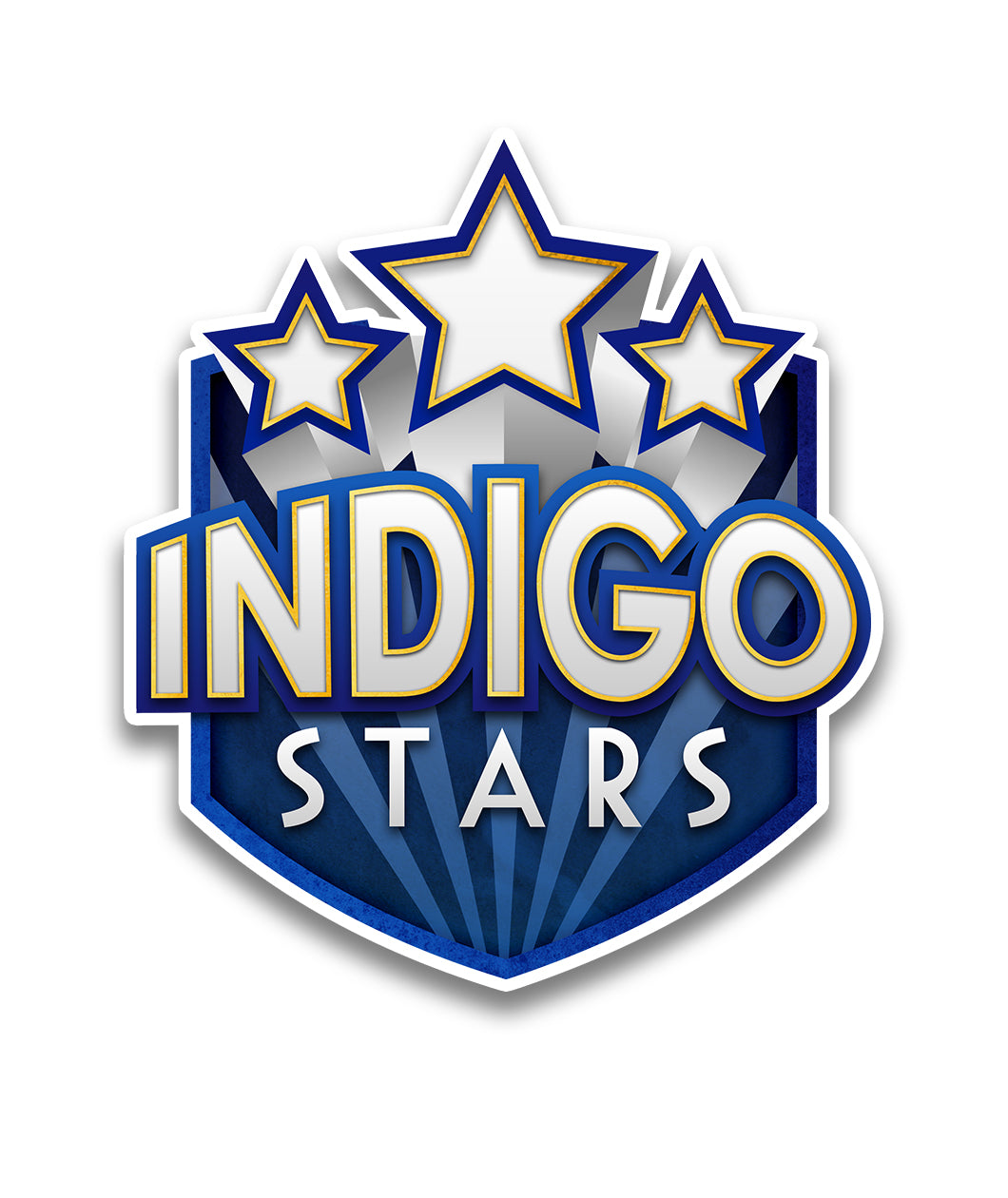 Indigo Stars Team Decal