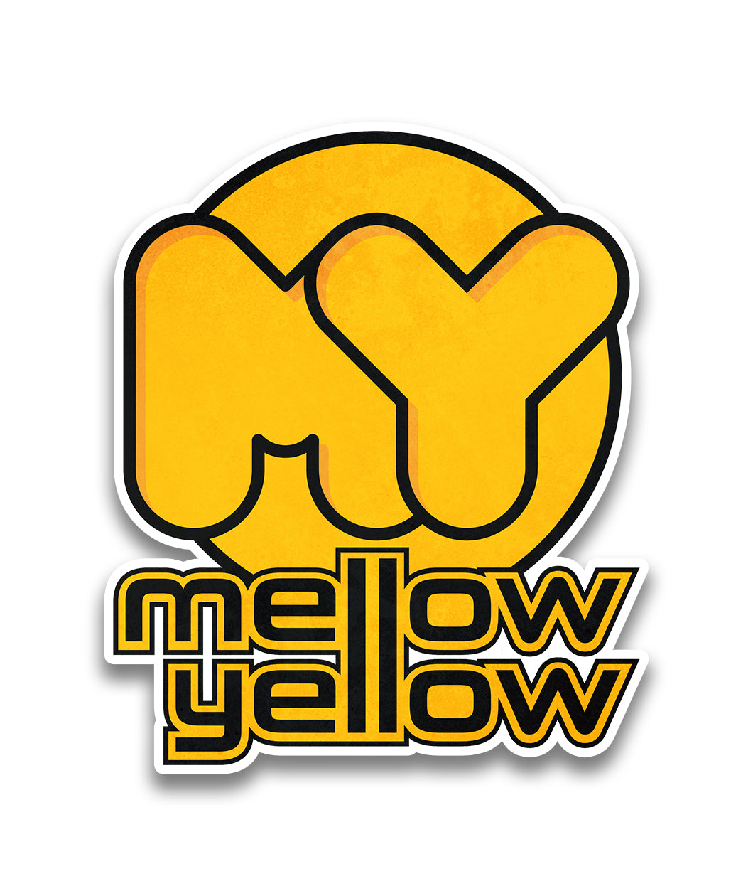Mellow Yellow Team Decal