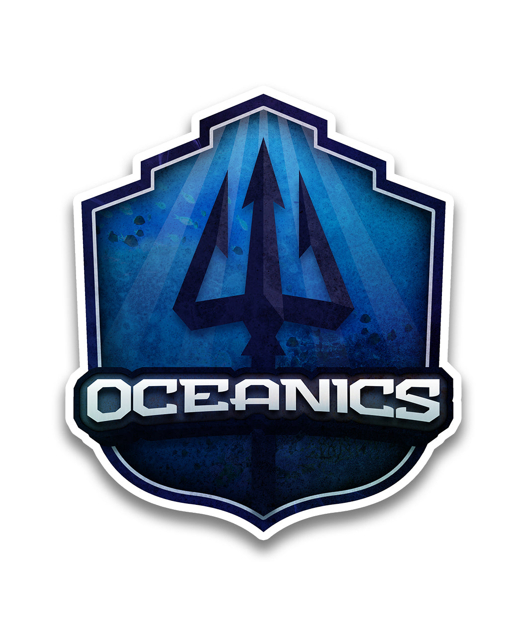 Oceanics Team Decal