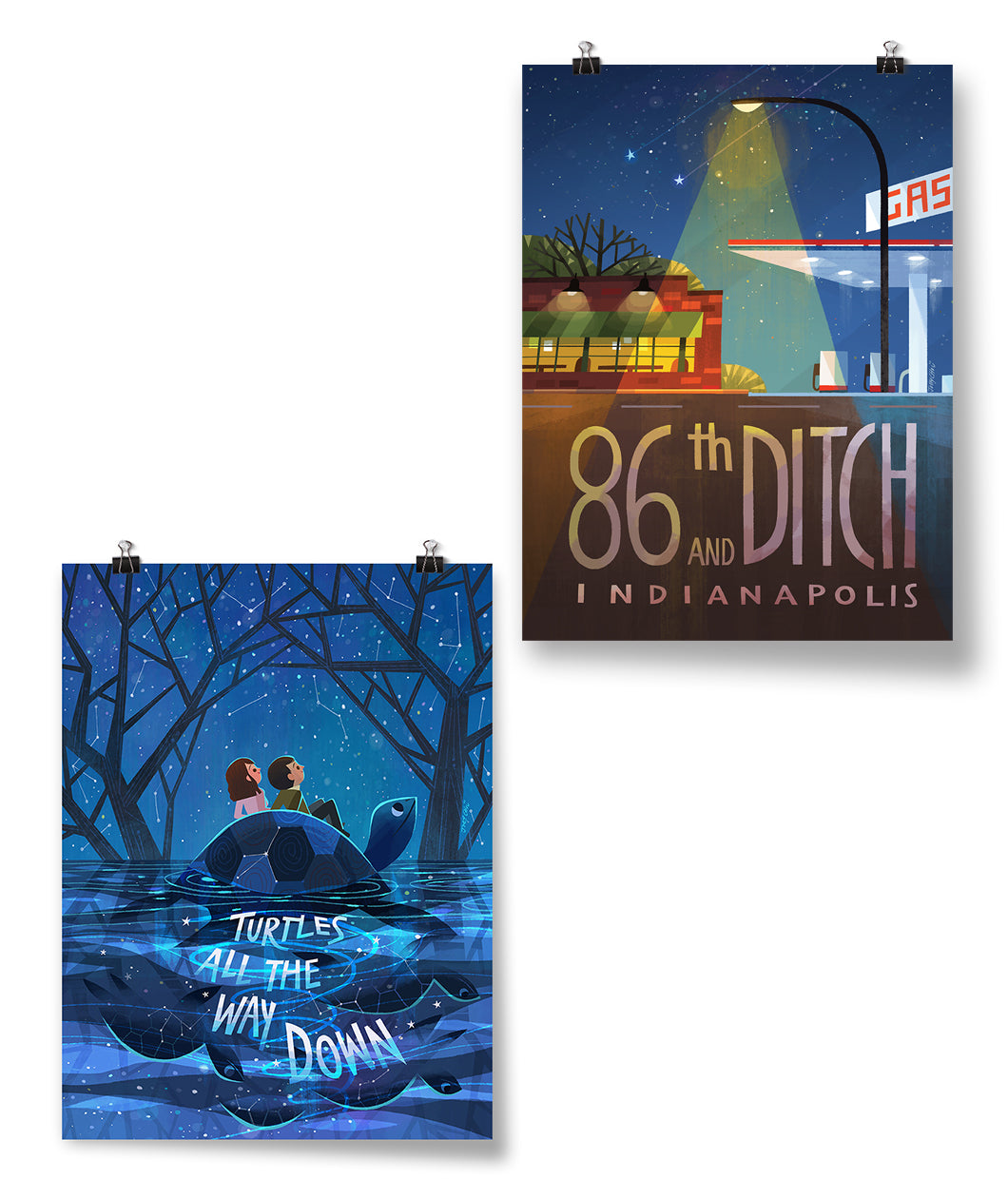 86th And Ditch + Aza And Davis Poster Bundle
