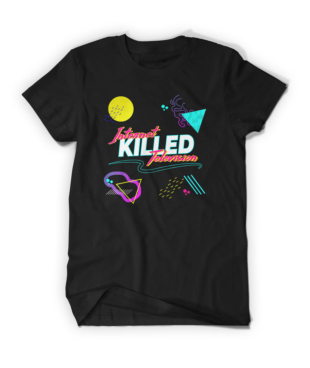 90's Internet Killed Television Shirt