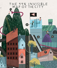 Map Of The City Poster