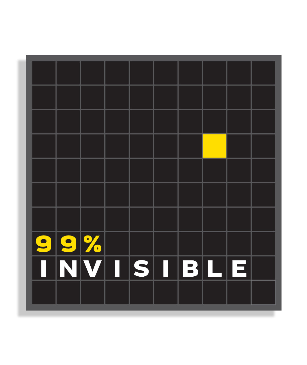 99% Invisible Decal