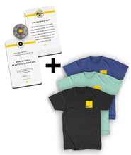 Beautiful Nerd Bundle (Club Card + Pin + T-Shirt)