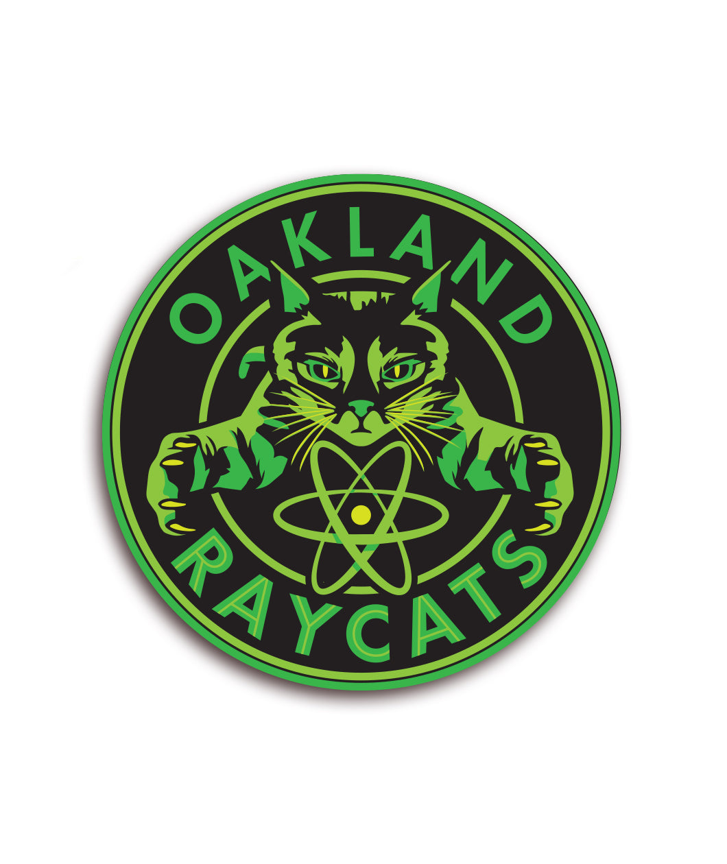 Oakland Raycats Decal