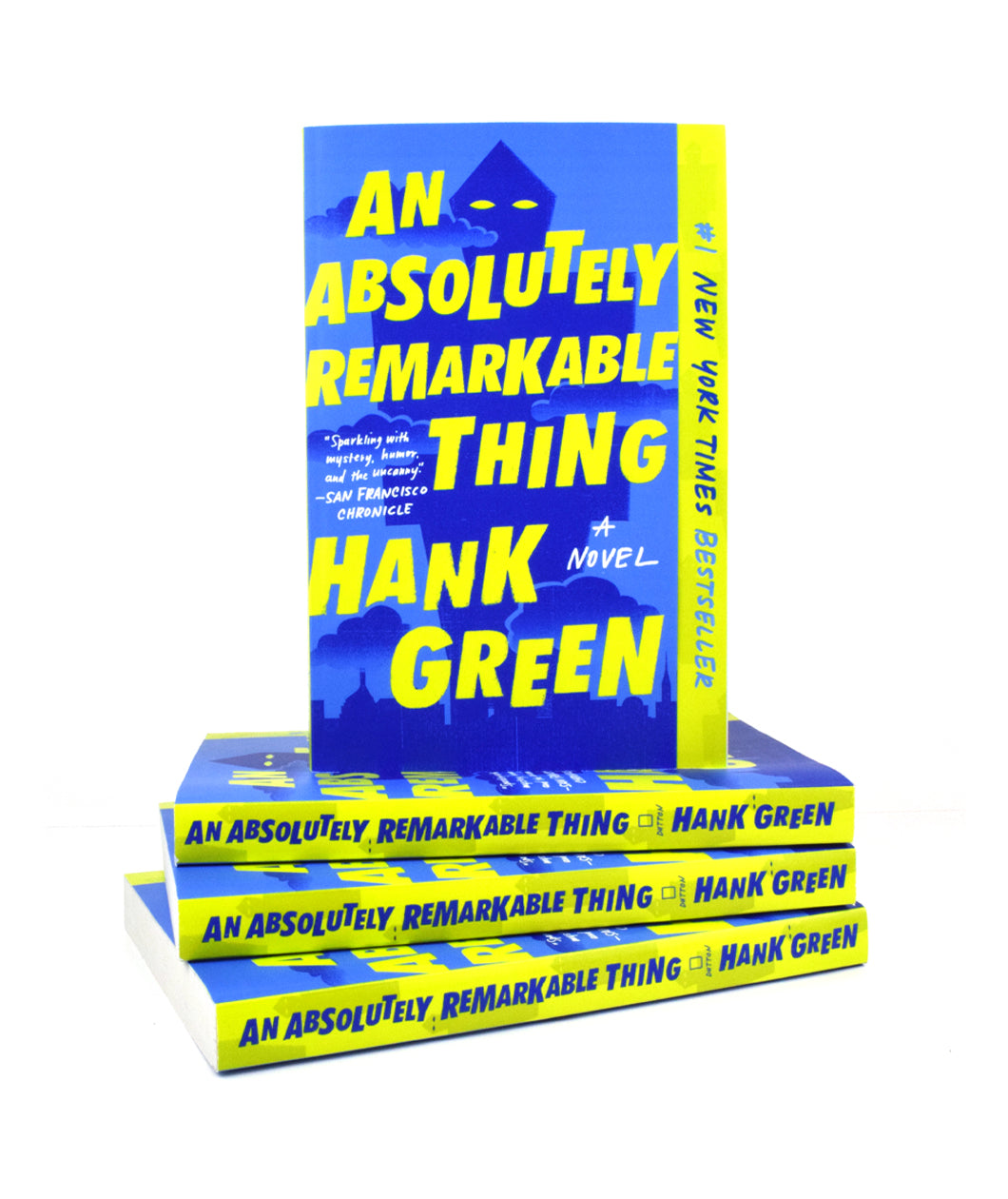 An Absolutely Remarkable Thing Signed Paperback Book