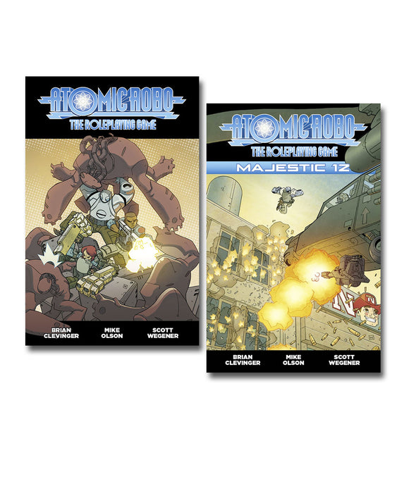 Atomic Robo RPG Set