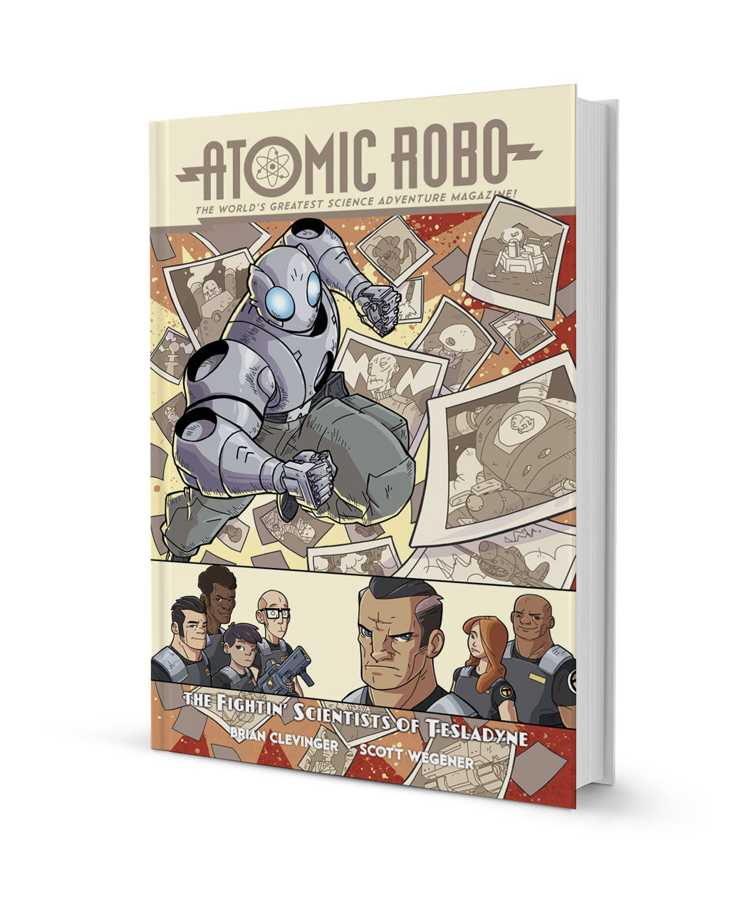 Atomic Robo and the Fighting Scientists of Tesladyne