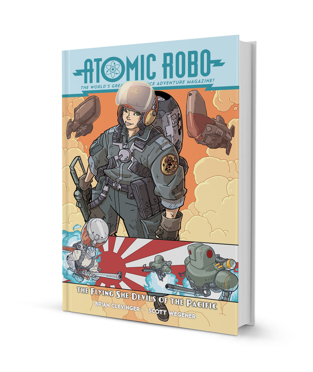 Atomic Robo and the Flying She-Devils of the Pacific