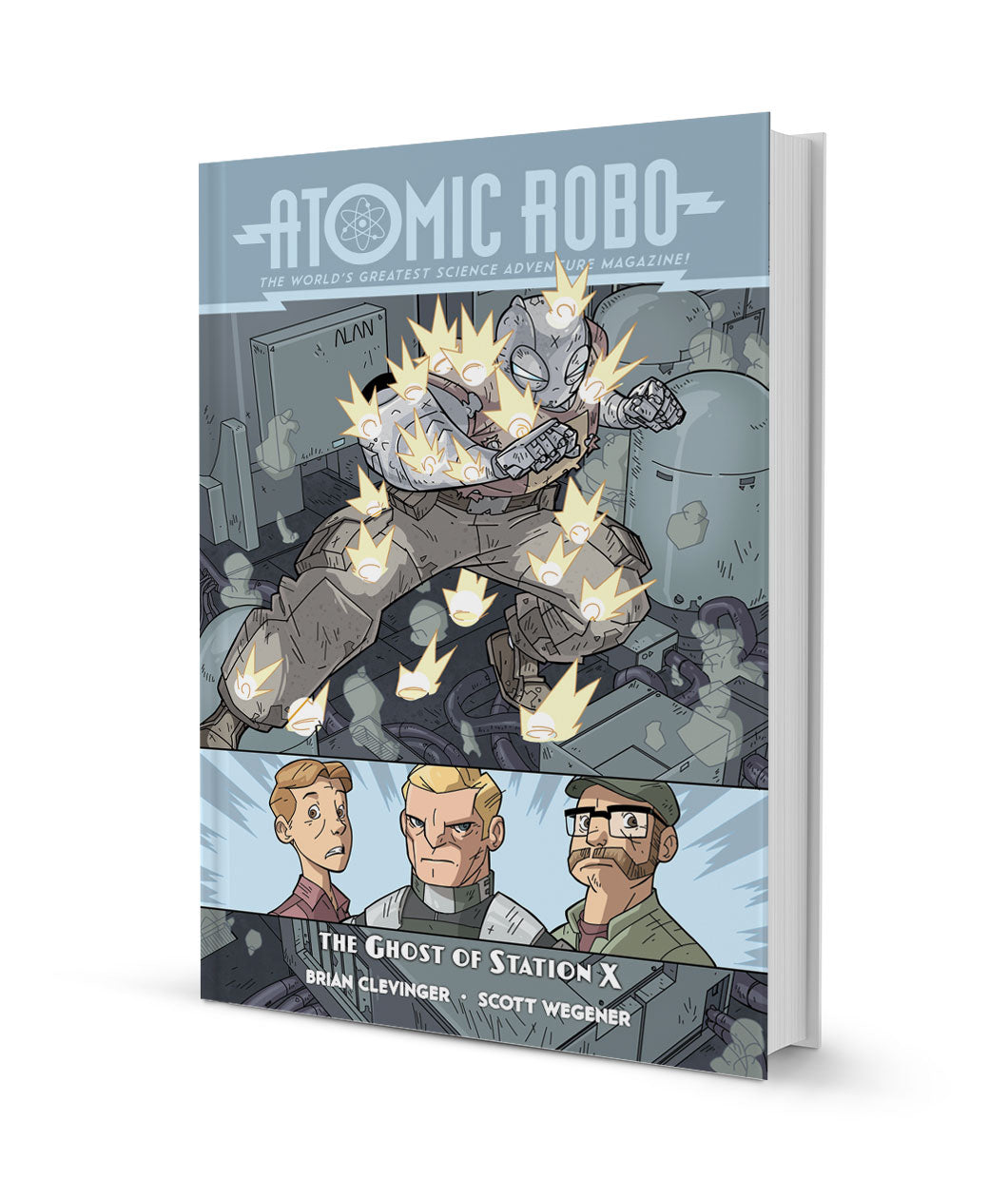 Atomic Robo and the Ghost of Station X