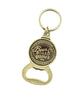 Beer & Board Games Bottle Opener Keychain