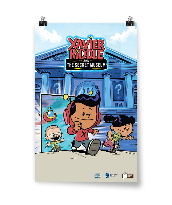 Xavier Riddle and the Secret Museum Poster