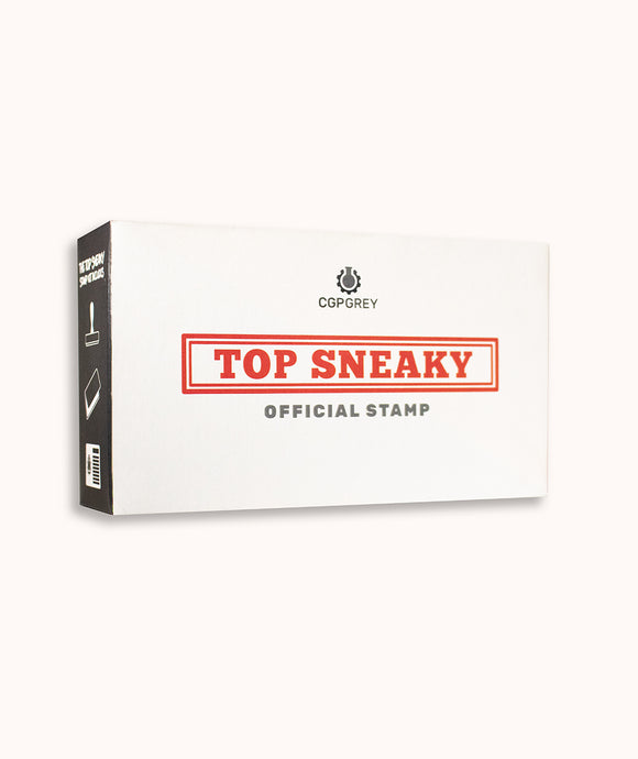 CGP Grey Top Sneaky Official Stamp