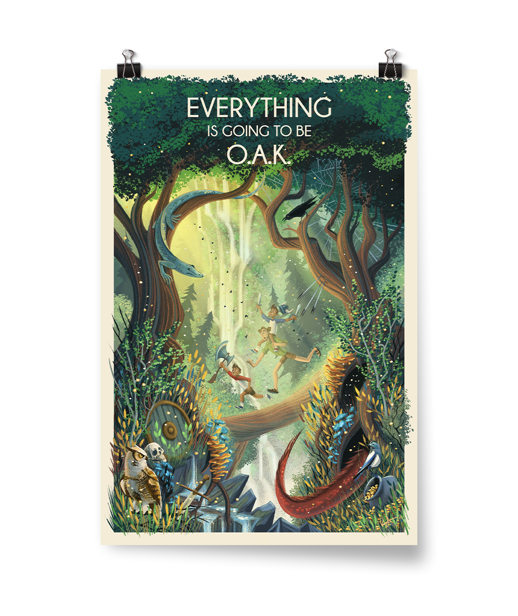 Everything Is Gonna Be O-A-K Poster