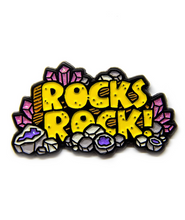 Rocks Rock! Pin