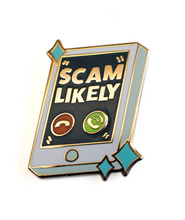 Scam Likely Pin