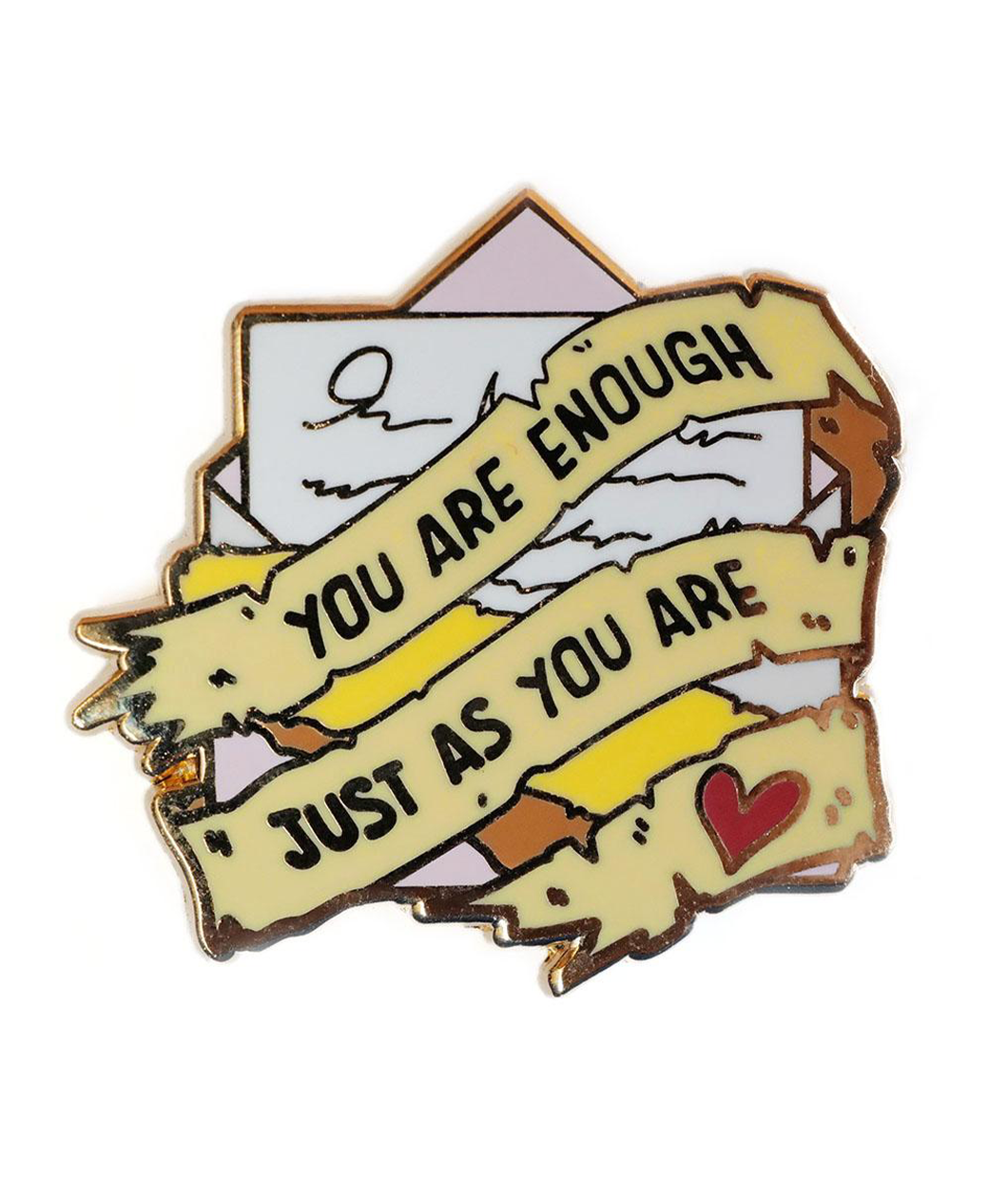 You Are Enough Just As You Are Pin