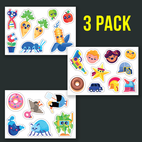Happy Friends Sticker Set