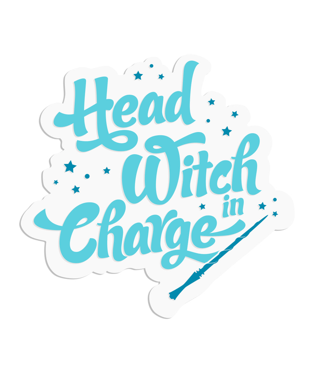 Head Witch In Charge Sticker