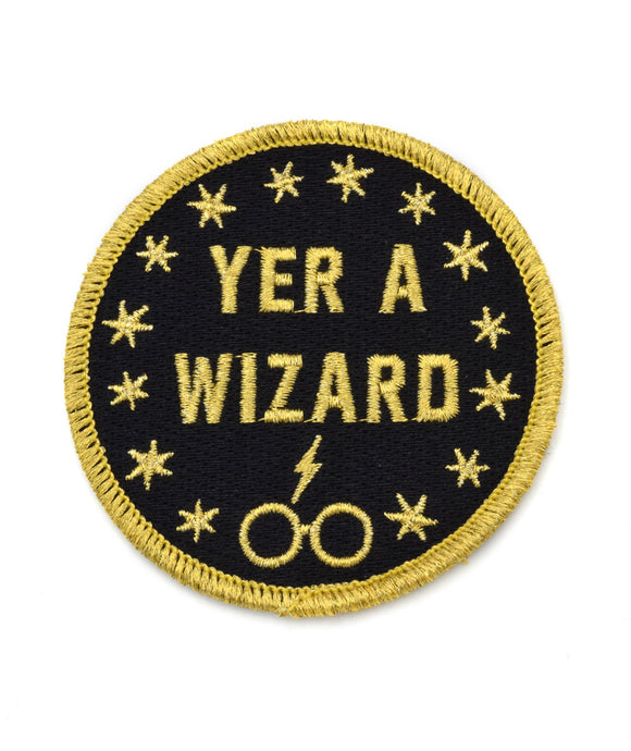 Yer a Wizard Patch