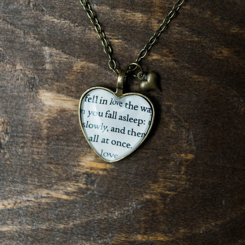 I Fell in Love Necklace