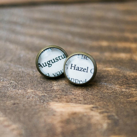 Hazel and Augustus Stud Earrings