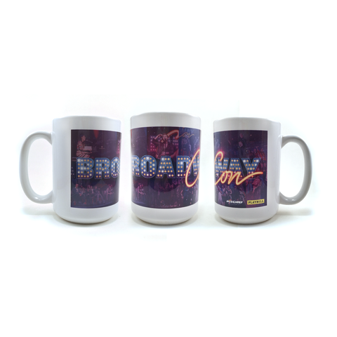 BroadwayCon Logo Mug