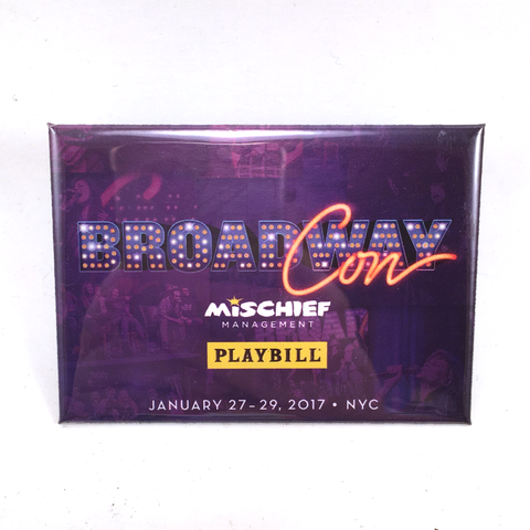 BroadwayCon 2017 Magnet