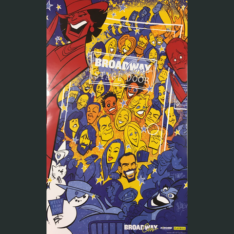 BroadwayCon 2017 Stage Door poster