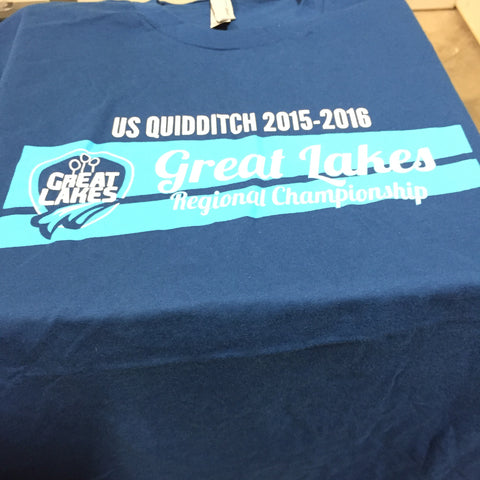 US Quidditch Regionals Shirt- Great Lakes 2015