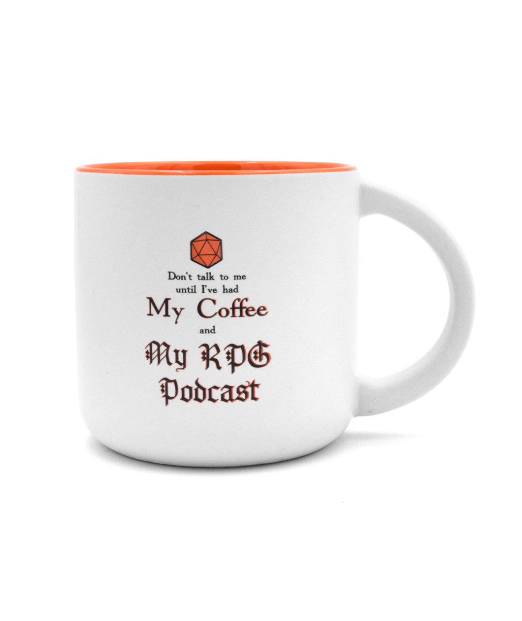 Coffee + RPG Podcasts Mug