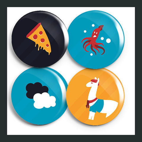Nerdfighter Button Packs