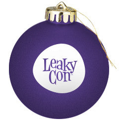 LeakyCon Holiday Ball Ornament
