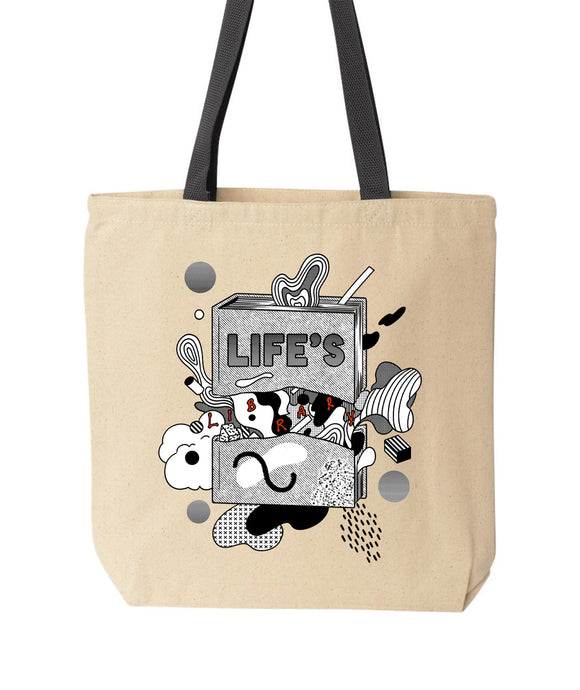Life's Library Tote Bag