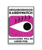 Karenwatch Enamel Pin