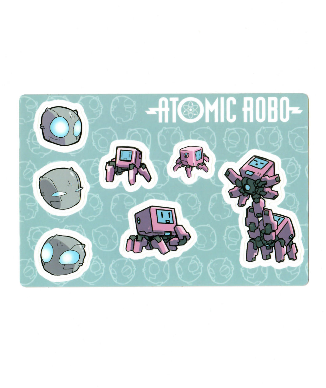 Atomic Robo Sticker Sheet